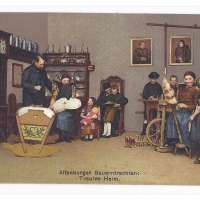 Postcard – Germany | Interior Scene from Altenburg